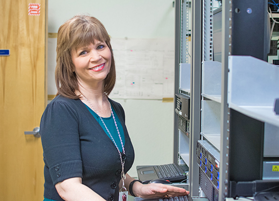 Kathy Kirby, Network & IT Support